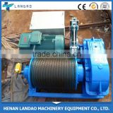 2016 Reliable Supplier Electric Cable Pulling Winch Machine