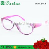 2016 plastic injection Italy design reading glasses and spring hinge reader