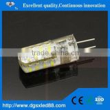 Mini 3W G4 DC/AC 12V-24V 3030 SMD Ultra Bright LED Crytal lamp Corn bulb droplight chandelier COB Spot light