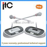 Audio conference conference system table microphone for conference room system