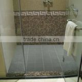 Customized 100% pvc Five-Star Hotel interlocking anti-slip bath mat with suction cups,PVC bath mat