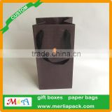 accept custom order gift bags polyester sation ribbon knotted black eyelets bags