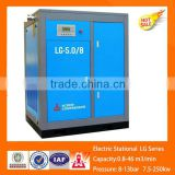 KaiShan LG-35m3/min/1.0Mpa 250KW small portable integrated screw air compressor price list