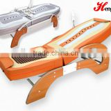 Health care massage bed korea heated jade stone roller massage bed blood circulation bed