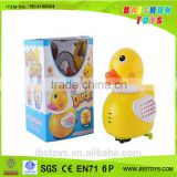 Wholesale Duck with Light B/O Yellow Duck Toy TB14100034