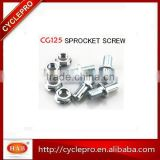 Motorcycle Sprocket Screw motorcycle Sprocket Repair Kit For Delta 70 C70 Cg125 AX100,YBR125,etc...