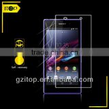 Japanese hydrophobic and oleophobic self-healing screen protector film for Sony xperial Z1