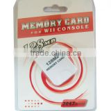 Best selling memory card for Wii 128MB memory card