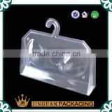 Professional Design Transparent Bra Packing Tray With Hang Hole