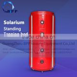 New product 2016 tanning bed with led lamp luxura collagen machine