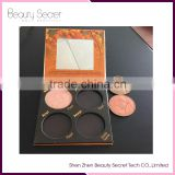 Inquiry about Empty eyeshadow palettes wholesale customized eyeshadow pallet