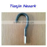 "Bike Hook,Tool Hook,Bicycle Hook,Storage Hook,Wall Hook,Steel Screw Hook,PVC Coated 3/8""x3""x6"""