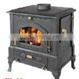Cast Iron Wood Burning Stove With Side Door