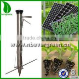 Manual handheld portable vegetable seed planter