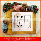 Wholesale Decorative Resin Switch Cover Frames Sticker