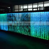lighting led color chaning water bubble wall decorative shopping mall/hotel wall decoration