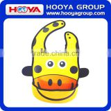 large baby bibs waterproof Anti-Bacterial soft neoprene baby bib wholesale cartoon baby bib