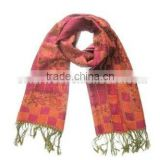 OEM Service National Styliest 100% Merino Wool Local Printed Scarf