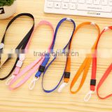 1cm plastic hook Ribbon badge lanyard lanyard gold ribbon work documents card sets with rope chest card rope