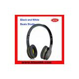 2012New Arrival Wholesale black and yellow Solo HD headphones by dr. dre for monster beats