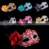 Halloween Ball Party Sexy Mask Costume Venetian Masquerade with Flower Lace