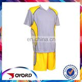 new design soccer football play polyester soccer uniform for male