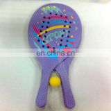 2014 hot sale beach tennis ball rackets sports equipments fitness