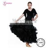 2016 Practice Fashion China Black Searching Lyrics Dance Dress Costumes AB034