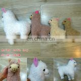 Soft Plush Toy Sheep Alpaca Plush 28cm,price for 1 piece Wholesale Fashion Anime Cos Hot and New Style