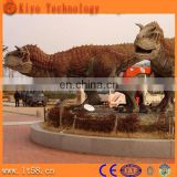 Large animatronic animal molds in dino world