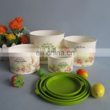 2014 new product 4 sets of plastic food container