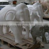stone elephant statue for garden decoration