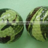 Golf camouflage ball