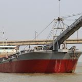 Sale: 2600T Inland Self-Unloading Sand Ship