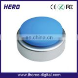 promotional voice recordable push button door bell/buzzer/talking box for child