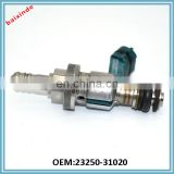 BAIXINDE BRAND Hot Selling Auto Plastic Fuel Injection System OEM 23250-31020 23209-39105 23209-39055 Fuel Nozzle