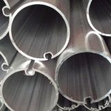 Tube Diameter 75 Mm X 0.7mm For Waiting Rooms / Restaurants Half Round Aluminum Tubes