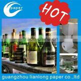 PVC/PET shrink sleeve label pencil, bottle packaging, heat shrinkable packaging bottle labels, shrink sleeve cap label