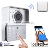 Android IOS Smartphone APP Remote Controlling Wireless WIFI Video Door Phone WIFI-602 with 315MHz Code-learning Doorbell