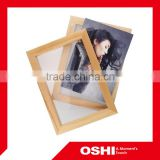 Top Quality Popular Design wooden Photo frame, double picture photo frame, love theme photo frame