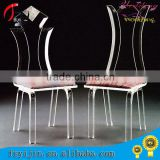 wholesale clear acrylic wedding banquet dining chair