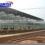 Hot galvanized steel shiitake mushroom greenhouse
