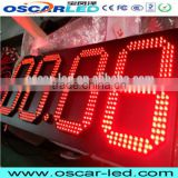 electronic 12 inch 7 segment 8888 led outdoor gas station led sign clock digit led screen display