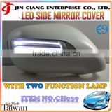 Body Kit For LEXUS IS250 IS350 ISF LED DOOR SIDE VIEW MIRROR COVER