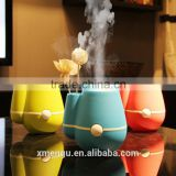 Vase 160ml USB Ultrasonic Mini Humidifier Air Purifier Mist Maker & Perfume Aroma Diffuser Atomizer for Home Room Health Care