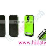 Rechargeable External Backup Power Leather Battery Case for Galaxy S4/ 3200Mah Battery Case for Samsung Galaxy S4 i9500