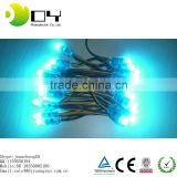 cheap price blue light 9mm led string light for christmas decoration
