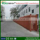 Handrail for outdoor steps WPC fencing made of eco-friendly wood plastic composite decking