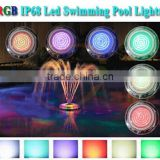 Amazing price Ra>80 energy efficient led under-water pool & spa light pure white & multi-color ip68 led pool light