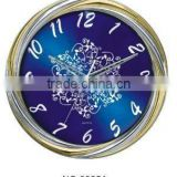 analog household new design metal wall clock